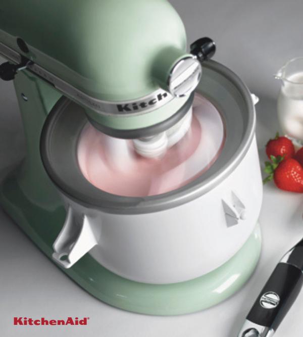 KitchenAid Παγωτομηχανή για μίξερ σειρά Artisan